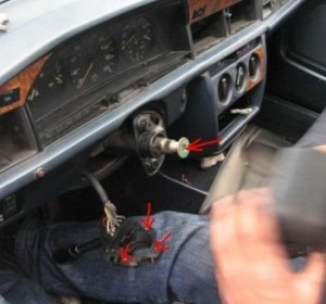 Радиатор печки на мерседес 190