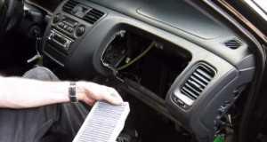 Замена салонного фильтра Хонда Аккорд