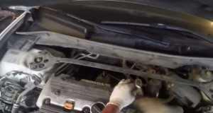 Замена свечей зажигания Хонда Аккорд